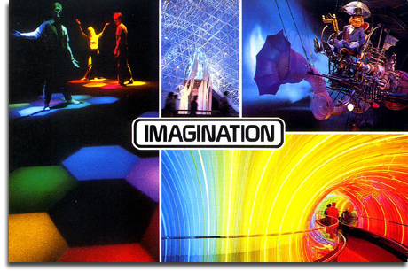 Journey Into Imagination postcard