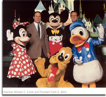 Michael Eisner and Frank Wells, 1985 (small)