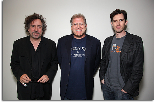 Tim Burton, Robert Zemeckis and Joe Kosinski at Comic-Con