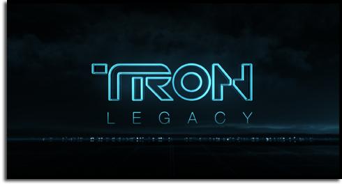 TRON Legacy title card