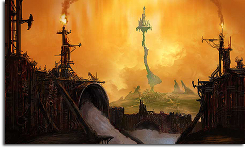 "Possible concept art for ""Epic Mickey"""