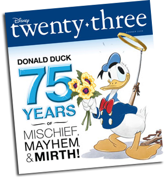 D23 Issue #2, Summer 2009 - Donald Duck is 75