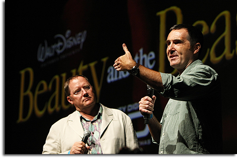 John Lasseter and Kirk Wise
