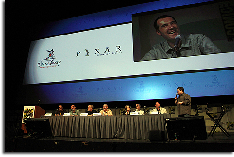 Disney animation panel at Comic-Con