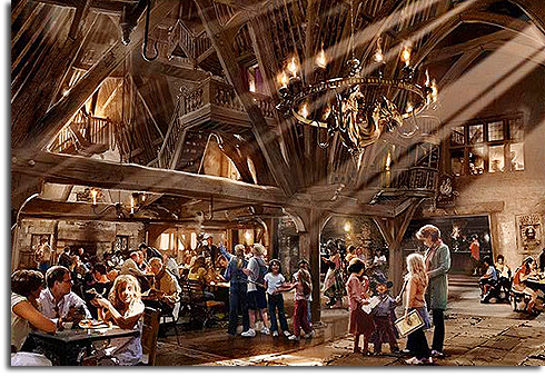 The Three Broomsticks, The Wizarding World of Harry Potter