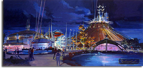 Conceptual rendering for Discoveryland, Disneyland Paris