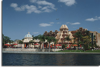 The Mexico Pavilion at EPCOT Center