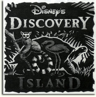 Proposed Discovery Island logo by Julie Svendsen, 1993