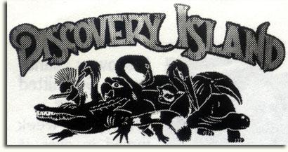 Proposed Discovery Island logo by Owen Yoshino, 1993