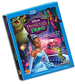 Princess and the Frog Blu-Ray Cover Art