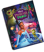 Princess and the Frog DVD Cover Art