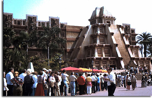 Mexico Pavilion at EPCOT Center, 1983