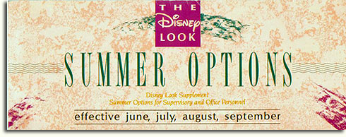 The Disney Look - Summer Options