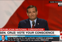 Ted Cruz in Republican Convention: Vote your conscience