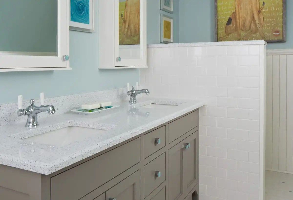 Whitney Cambria Quartz Bathroom Vanity Progressive Countertop