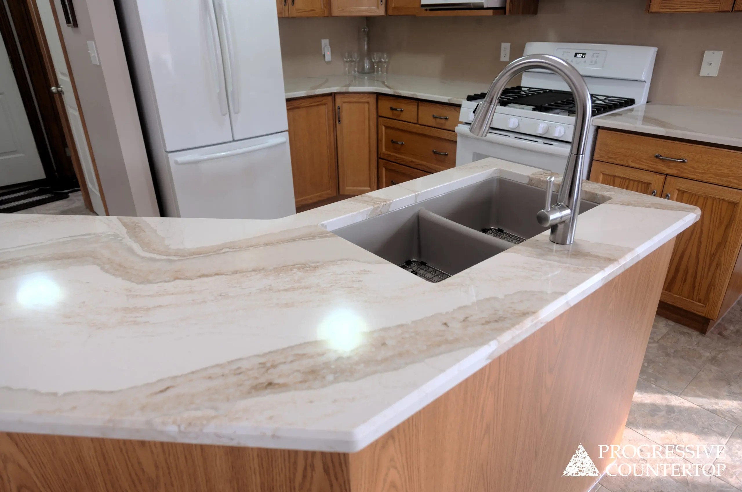 Https Www Progressivecountertop Com Countertop Album Cambria Brittanicca Gold Kitchen Countertop Petrolia Ontario