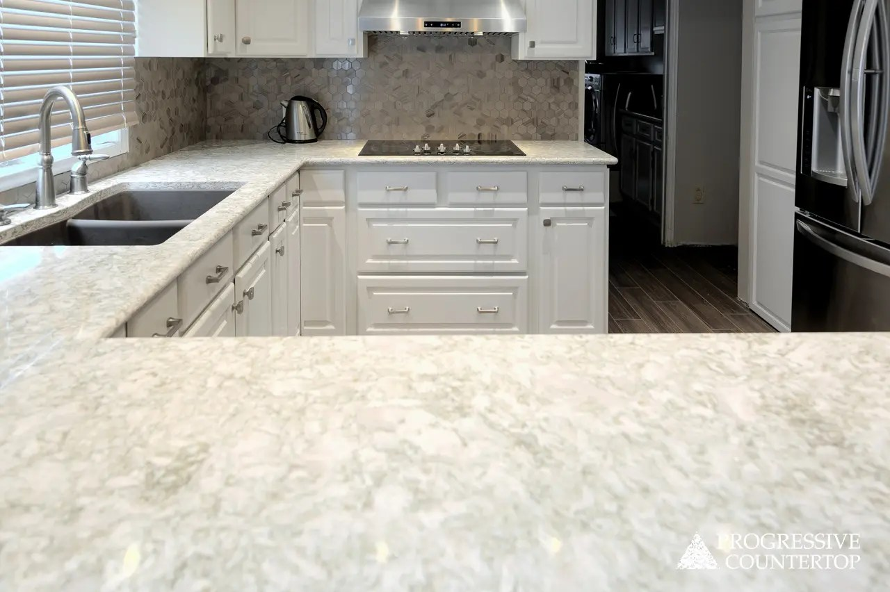 Cambria Quartz U Shaped Kitchen Countertop Crowndale Progressive Countertop