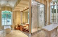 Contemporary Master Bathroom Remodel Bonita Bay FL ...