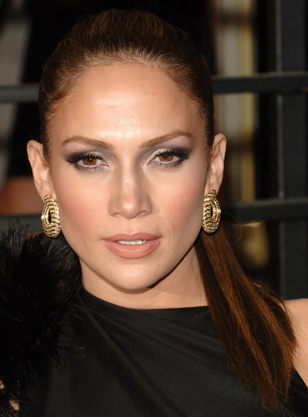 Hairstyle Ideas Upload Photo Free Jennifer Lopez 39;s Super Sleek Ponytail Hairstyle At 2010