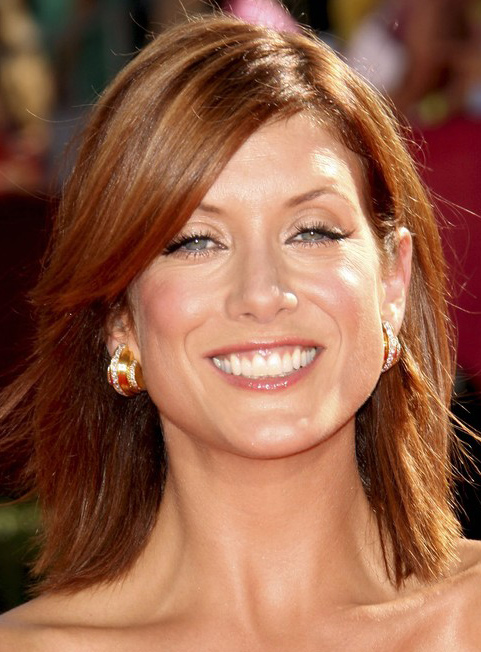 Hairstyle Ideas Upload Photo Free Kate Walsh 39;s Shoulder Length Layered Hairstyle At Emmy