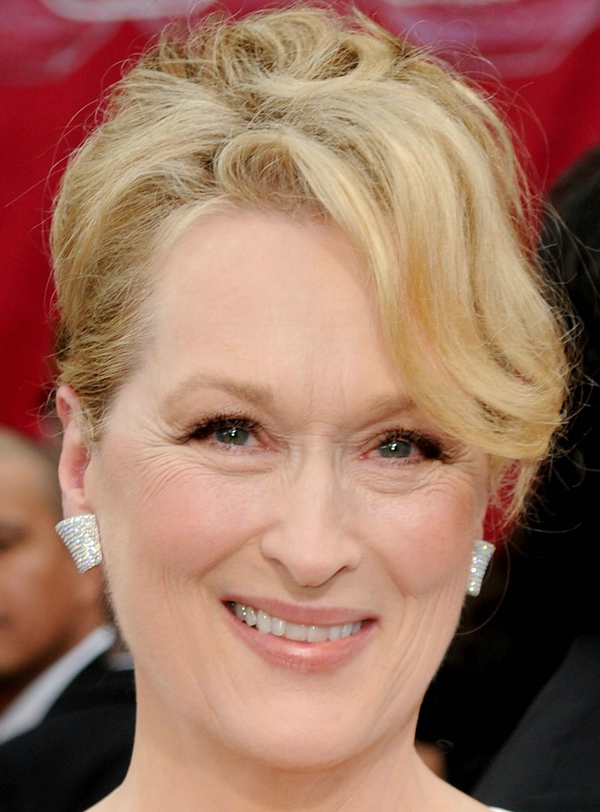 Hairstyle Ideas Upload Photo Free Meryl Streep 39;s Elegant Chignon Hairstyle At 2010 Oscars