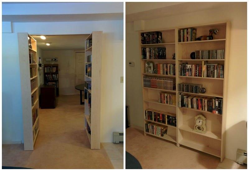 How To Build A Hidden Bookcase Door Home Decor