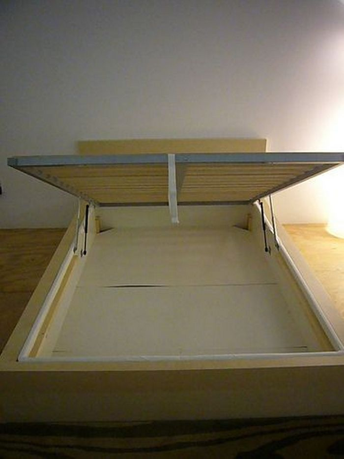 Spring Bett Diy Lift Top Storage Bed – Your Projects@obn