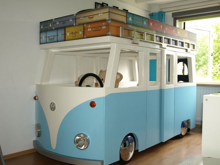 Diy Vw Micro Bus Bunk Bed And Playhouse Your Projectsobn
