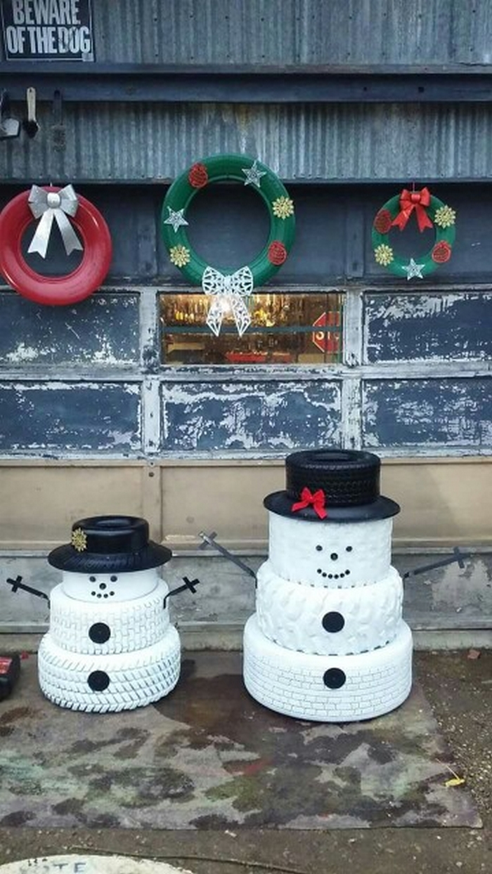 Tire Snowman 04 Your Projects Obn