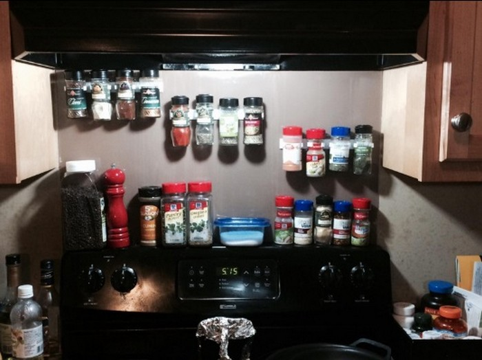 Sliding Kitchen Pantry Cabinet How To Make A Built-in Spice Rack – Your Projects@obn