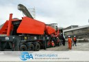 CEA Project Logistics Deliver Rock Crusher Machine in Thailand
