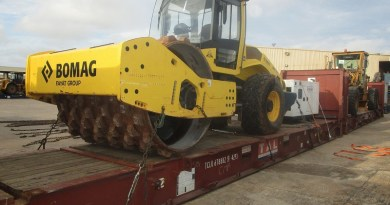 BV Shipping Handles Construction Machinery in Africa