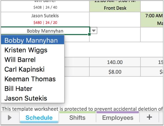 Nurse Daily Schedule Template Excel Projectemplates