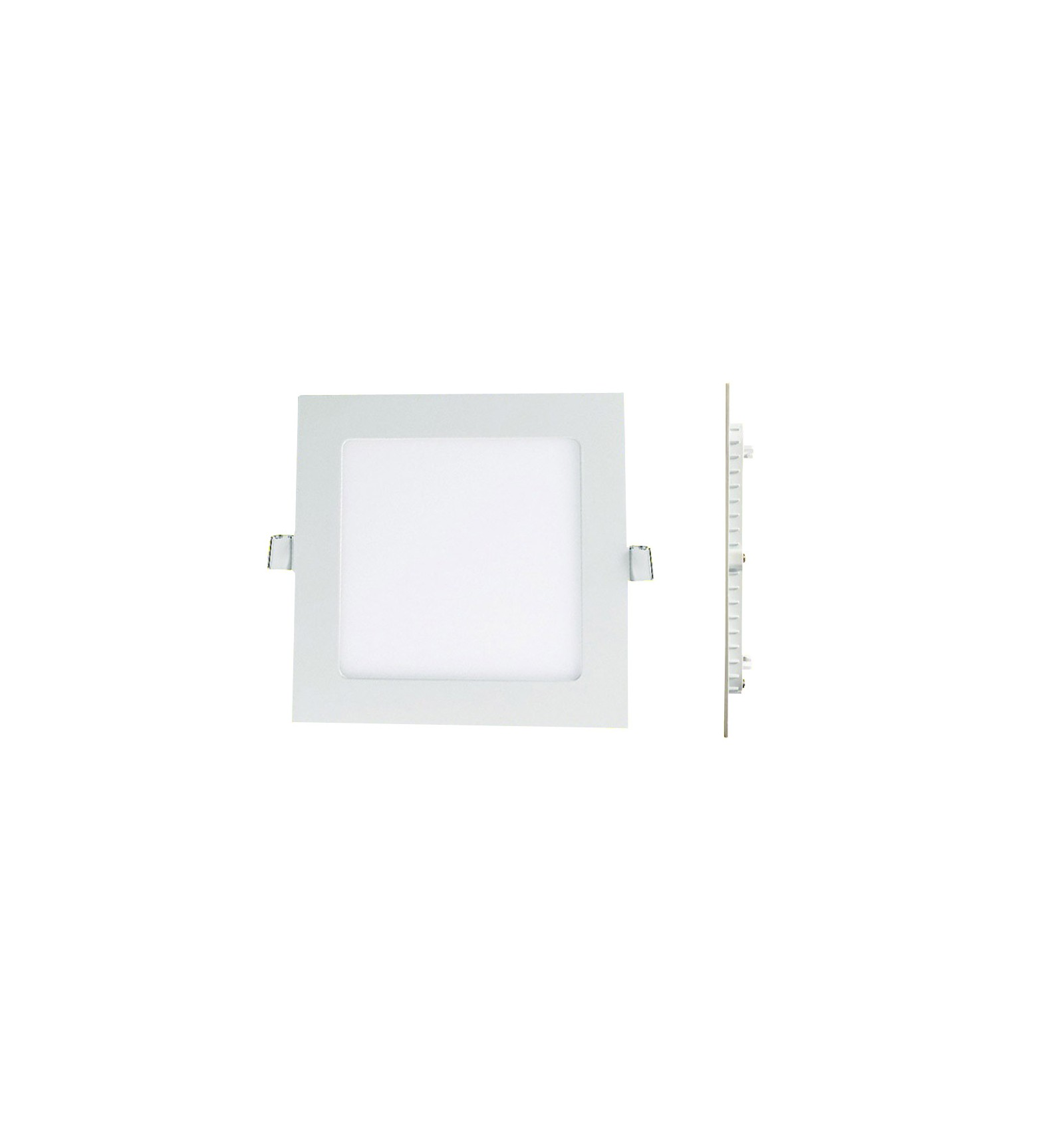 Spot Led Spot Slide Led Square Downlight Panel Extra Flat 6w Warm White 6000 K