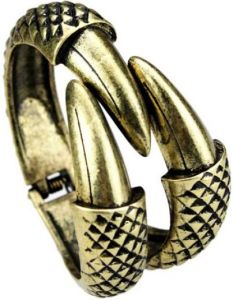 Old Gold Claw Bracelet