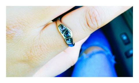 Geometric Ring--$10, Dollywood.