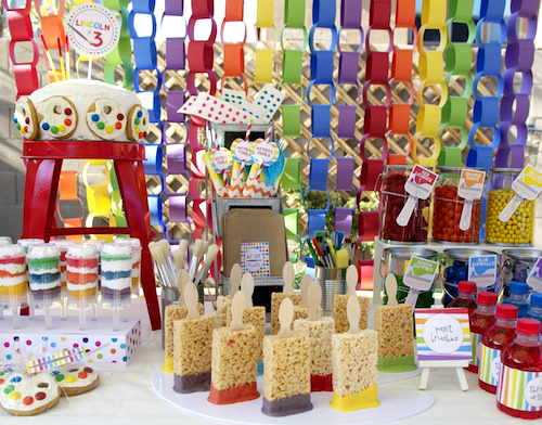 Art Party A Palette Of Party Projects