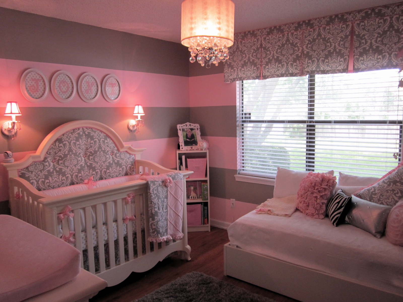 Grey And Pink Pink And Gray For Baby J Project Nursery