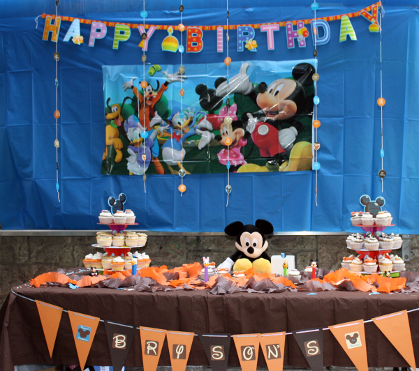 Creative DIY Mickey Mouse Clubhouse 1st Birthday Party!! - Project - mickey mouse boy birthday party ideas