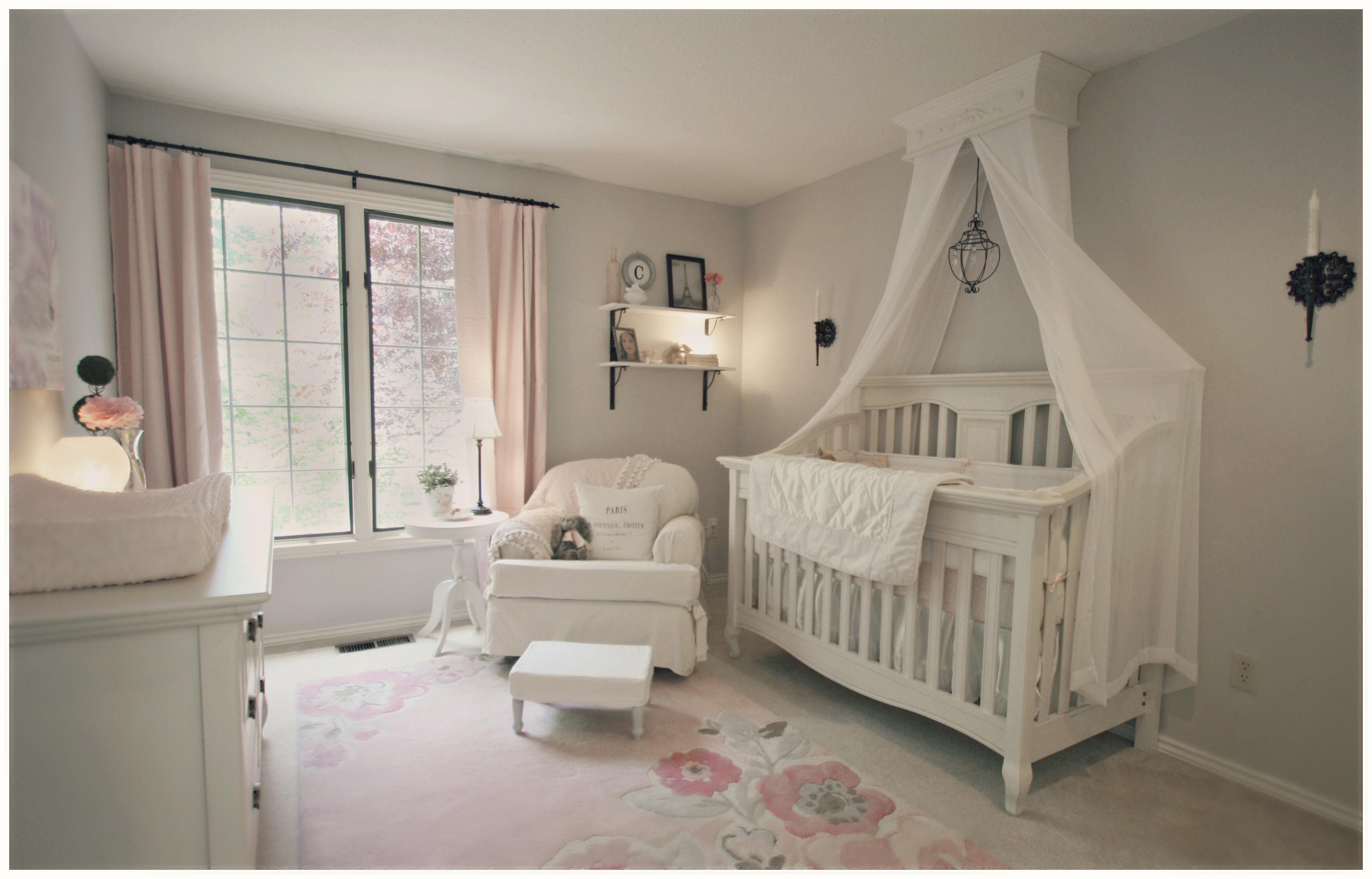 Pink And White Nursery Ideas Claire 39s Nursery Project Nursery