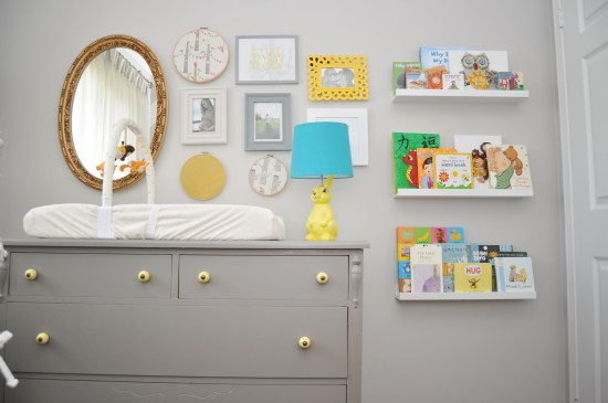Mini Piccolini - Grey Nursery with Colour Pops