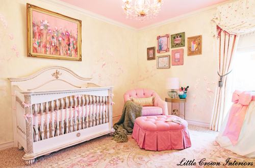 Design Reveal Sophisticated Chic Girl 39 S Nursery