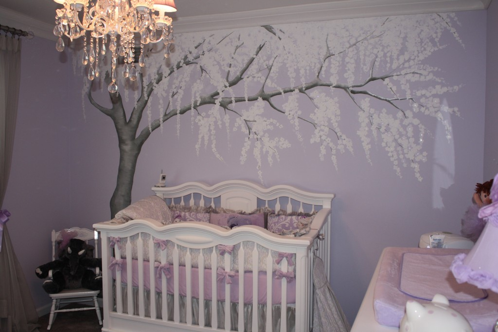 Cute Twins Baby Hd Wallpaper Sparkly Cherry Blossom Nursery Project Nursery