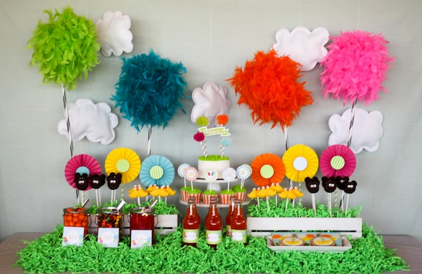 Party Reveal The Lorax, A Truffula-tastic Birthday Party - birthday party design