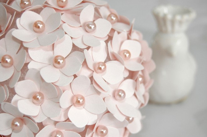 paper flower pomander
