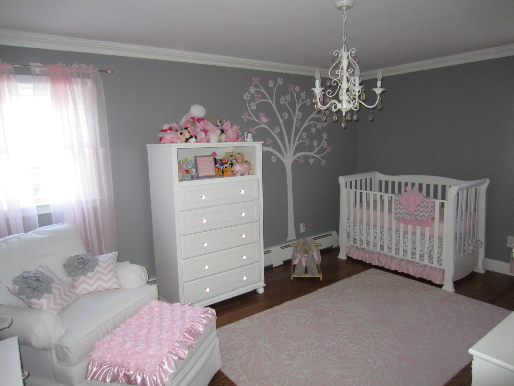 Pink And White Nursery Ideas Pink And Gray Classic And Girly Nursery Project Nursery