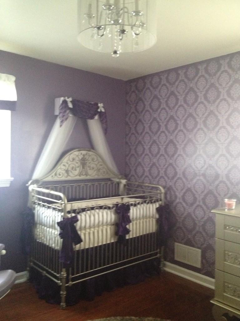 Toddler Girl Bedroom Wallpaper Lilah S Nursery Project Nursery