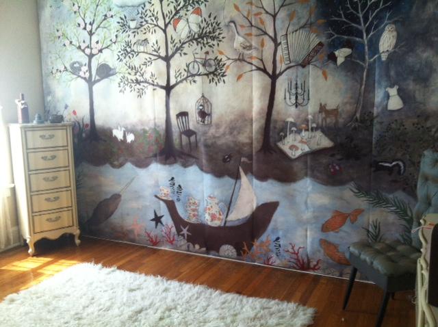 Toddler Girl Bedroom Wallpaper Adi S Enchanted Forest Nursery Project Nursery