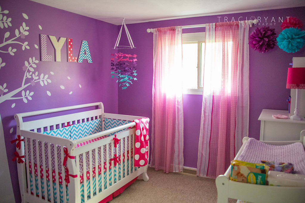 Girly Chevron And Polka Dots Project Nursery