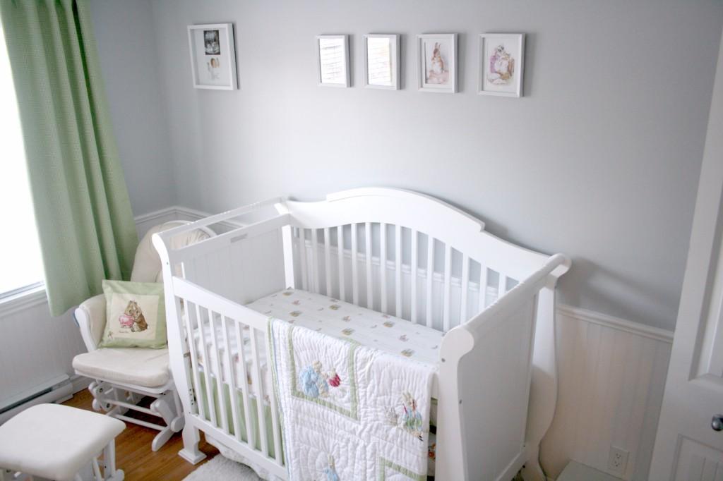 Wallpaper Ideas For Baby Girl Nursery Beatrix Potter Nursery Project Nursery